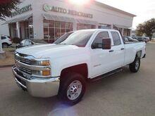 2018_Chevrolet_Silverado 2500HD_Work Truck Double Cab Long Box 4WD_ Plano TX