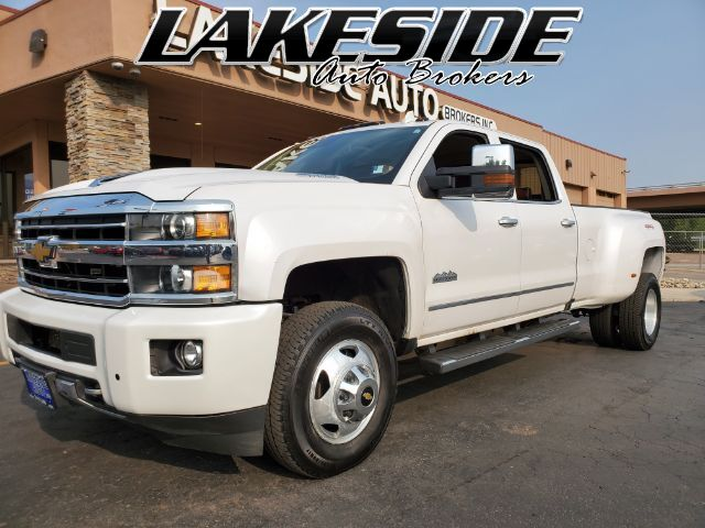 2018 Chevrolet Silverado 3500HD LTZ Crew Cab Long Box 4WD Colorado Springs CO