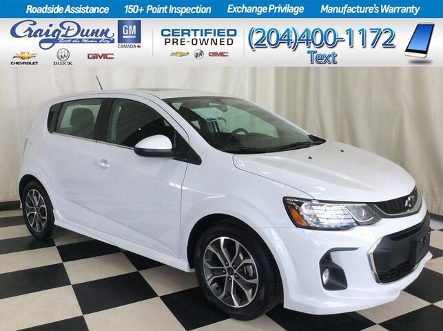 2018 Chevrolet Sonic * LT RS HATCH * SUNROOF * BLUETOOTH * Portage La Prairie MB
