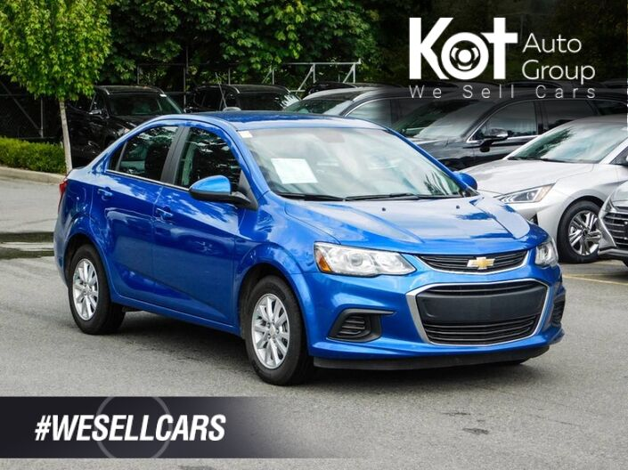 2018 Chevrolet Sonic 4dr Sdn Auto LT Maple Ridge BC