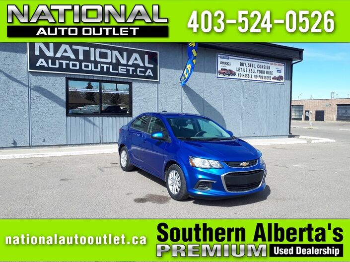 2018 Chevrolet Sonic LT - HEATED SEATS - CLEAN CARFAX Lethbridge AB