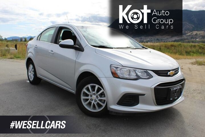2018 Chevrolet Sonic LT, Great on Fuel, Low Km's, Heated Front Seats Kelowna BC
