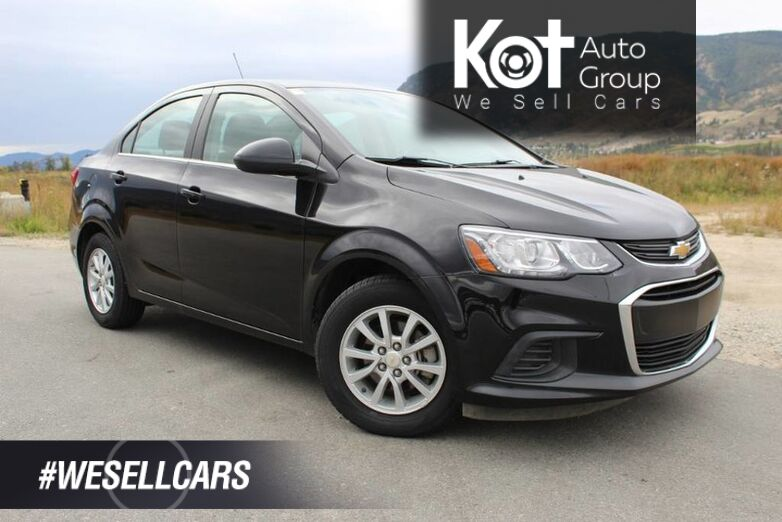 2018 Chevrolet Sonic LT, Great on Fuel, No Accidents Kelowna BC