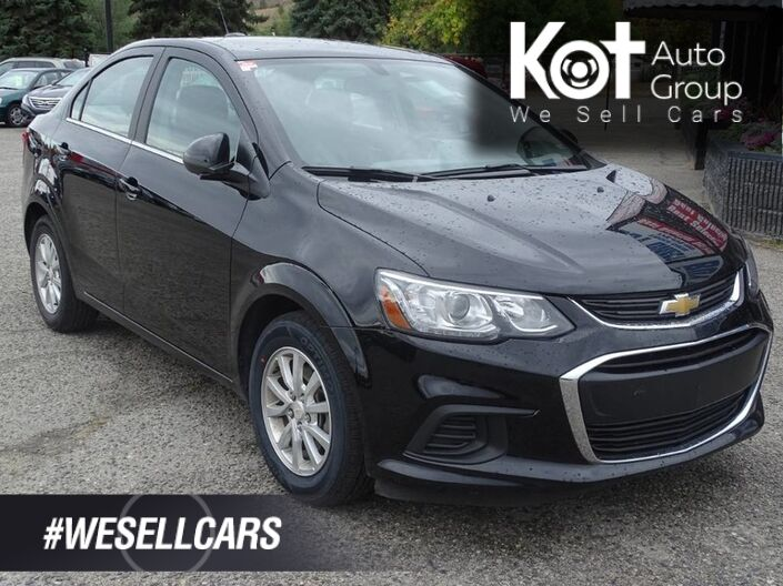 2018 Chevrolet Sonic LT, Heated Seats, SXM Radio, Bluetooth Kelowna BC