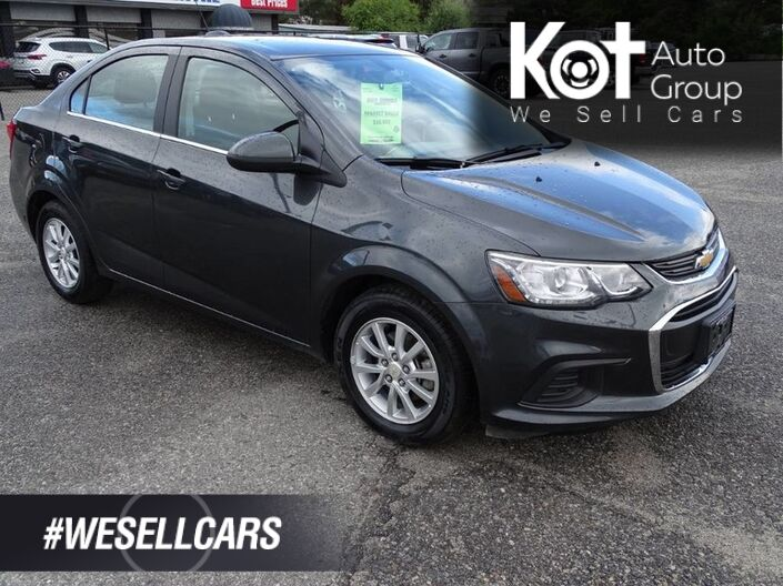 2018 Chevrolet Sonic LT, One Owner, No Accidents! Apple Carplay, Android Auto, Wifi Hotspot Penticton BC