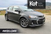 2018 Chevrolet Sonic LT, RS, Great on Fuel, Very Low Km's