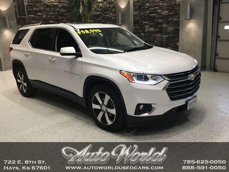 2018 Chevrolet TRAVERSE LT LEATHER AWD  Hays KS
