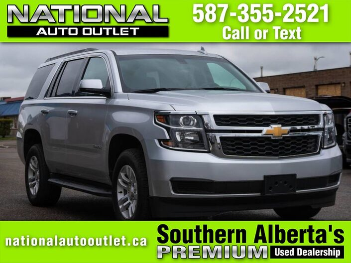2018 Chevrolet Tahoe LS - APPLE ANDROID CAR PLAY - BACK UP CAMERA - CLEAN CARFAX Lethbridge AB