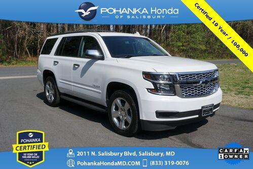 2018_Chevrolet_Tahoe_LS 4WD ** Pohanka Certified 10 Year / 100,000  **_ Salisbury MD