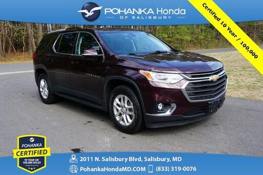 2018_Chevrolet_Traverse_LT  ** Pohanka Certified 10 Year / 100,000  **_ Salisbury MD