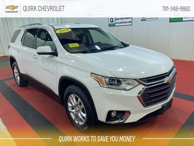 2018 Chevrolet Traverse LT Cloth Braintree MA