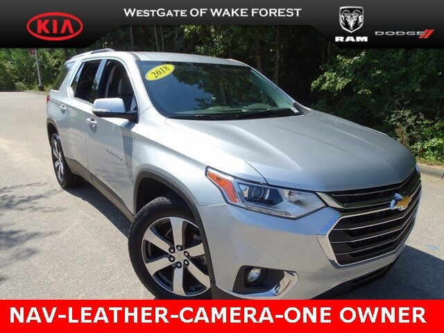2018 Chevrolet Traverse LT Leather Raleigh NC