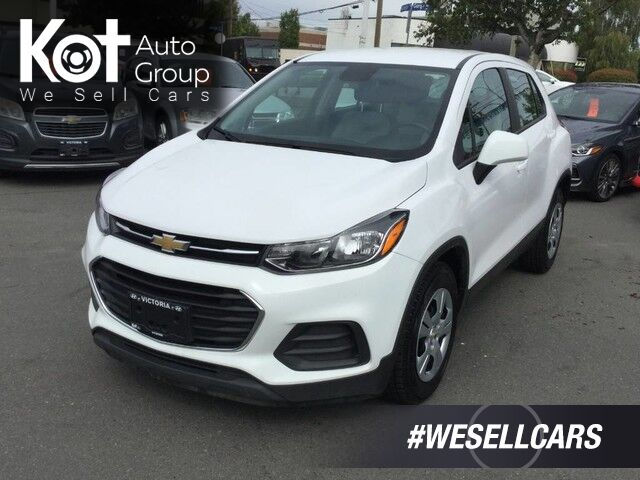 2018 Chevrolet Trax LS FWD No Accidents! Backup Camera! Victoria BC