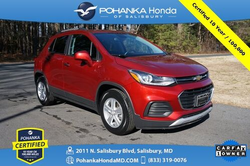 2018_Chevrolet_Trax_LT ** Pohanka Certified 10 Year / 100,000  **_ Salisbury MD