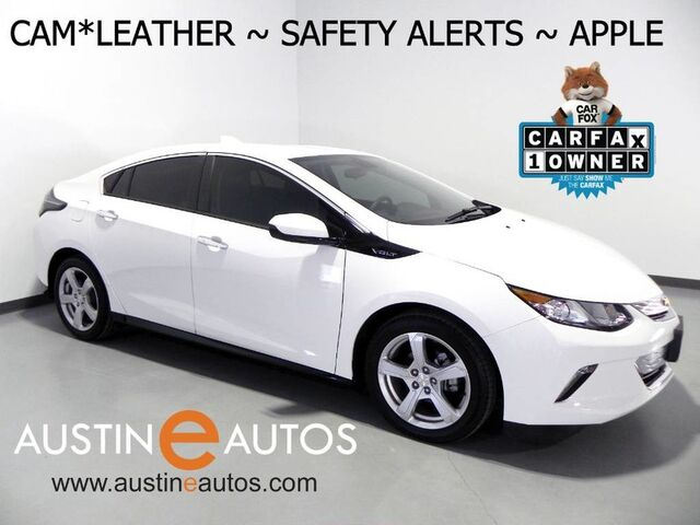 2018 Chevrolet Volt LT *BLIND SPOT & LANE DEPARTURE ALERT, BACKUP-CAMERA, TOUCH SCREEN, LEATHER, HEATED SEATS/STEERING WHEEL, BLUETOOTH, ANDROID & APPLE CARPLAY Round Rock TX