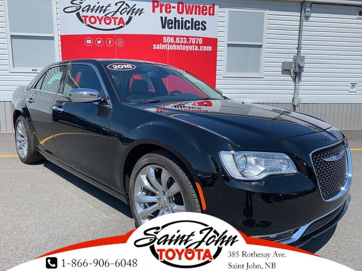 2018 Chrysler 300 Limited -- NEW PRICE 20/08/19 Saint John NB