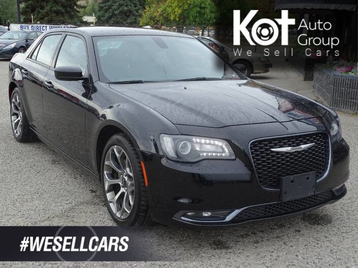 2018 Chrysler 300 S, Leather, Heated Seats, Bluethooth, Device Screen Mirroring Kelowna BC