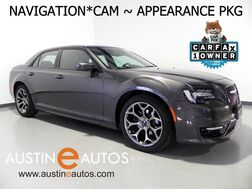 2018_Chrysler_300S_*NAVIGATION, BACKUP-CAMERA, APPEARANCE PKG, BLACK ROOF, HEATED SEATS, KEYLESS GO, APPLY CARPLAY, BLUETOOTH_ Round Rock TX