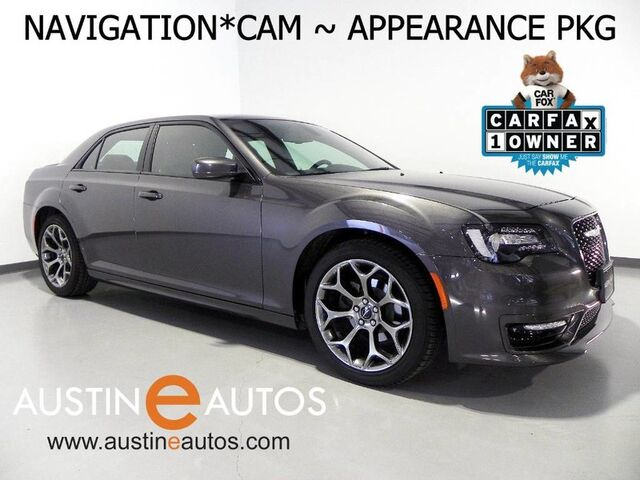 2018 Chrysler 300S *NAVIGATION, BACKUP-CAMERA, APPEARANCE PKG, BLACK ROOF, HEATED SEATS, KEYLESS GO, APPLY CARPLAY, BLUETOOTH Round Rock TX