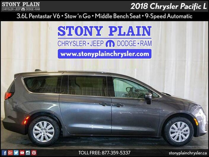 2018 Chrysler Pacifica L Stony Plain AB