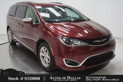 2018_Chrysler_Pacifica_Limited NAV,CAM,PANO,CLMT STS,BLIND SPOT,3RD ROW_ Plano TX