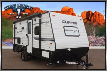 Coachmen Clipper 17FQS Single Slide Ultra-Lite Travel Trailer Mesa AZ