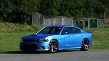 2018_Dodge_CHARGER_SRT HELLCAT 825HP RICHARD PETTY PKG / NAV / 1K MI / CAMERA_ Charlotte NC