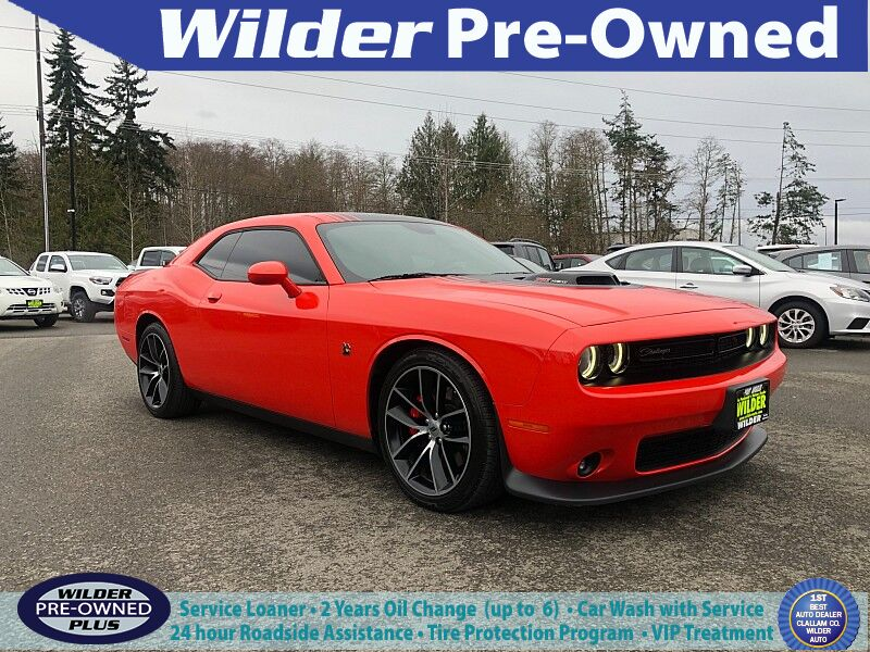 2018 Dodge Challenger 2d Coupe R/T 392 Scat Pack Shaker Port Angeles WA