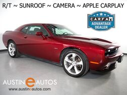 2018_Dodge_Challenger R/T 5.7L V8 HEMI_*AUTOMATIC, BACKUP-CAMERA, TOUCH SCREEN, MOONROOF, 20 INCH WHEELS, BLUETOOTH PHONE & AUDIO, APPLE CARPLAY_ Round Rock TX