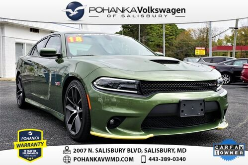 2018_Dodge_Charger_R/T 392 Scat Pack ** FAST ** ONE OWNER ** 485 HORSEPOWER **_ Salisbury MD