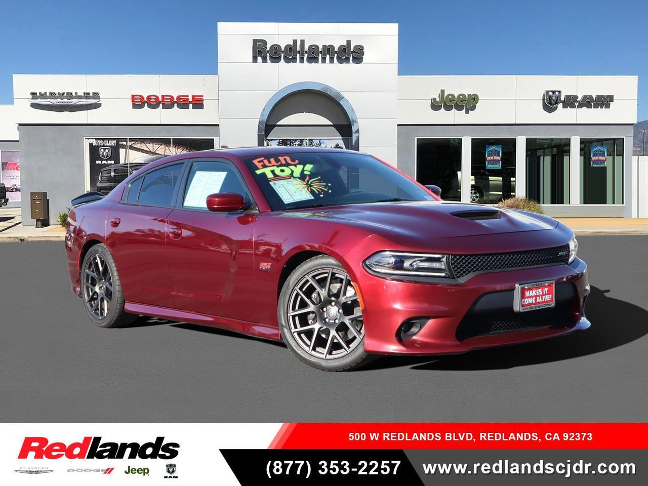 2018 Dodge Charger R/T Scat Pack Redlands CA