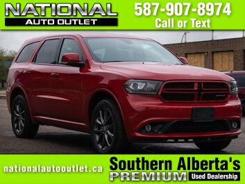 Dodge Durango GT - CLEAN CARFAX- HEATED LEATHER FRONT AND BACK Lethbridge AB
