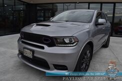 2018_Dodge_Durango_R/T / AWD / 5.7L HEMI V8 / Technology Group / Auto Start / Heated & Cooled Leather Seats / Heated Steering Wheel / Sunroof / Beats Audio Speakers / Adaptive Cruise / Lane Departure & Blind Spot / Rear Entertainment / 3rd Row / Seats 7 / Tow Pkg_ Anchorage AK