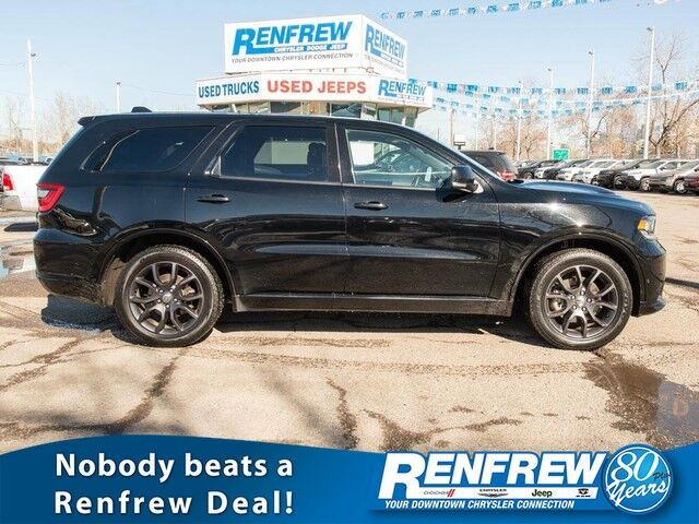 2018 Dodge Durango R/T AWD, Sunroof, Navigation, Remote Start, Heated Leather, Bluetooth Calgary AB