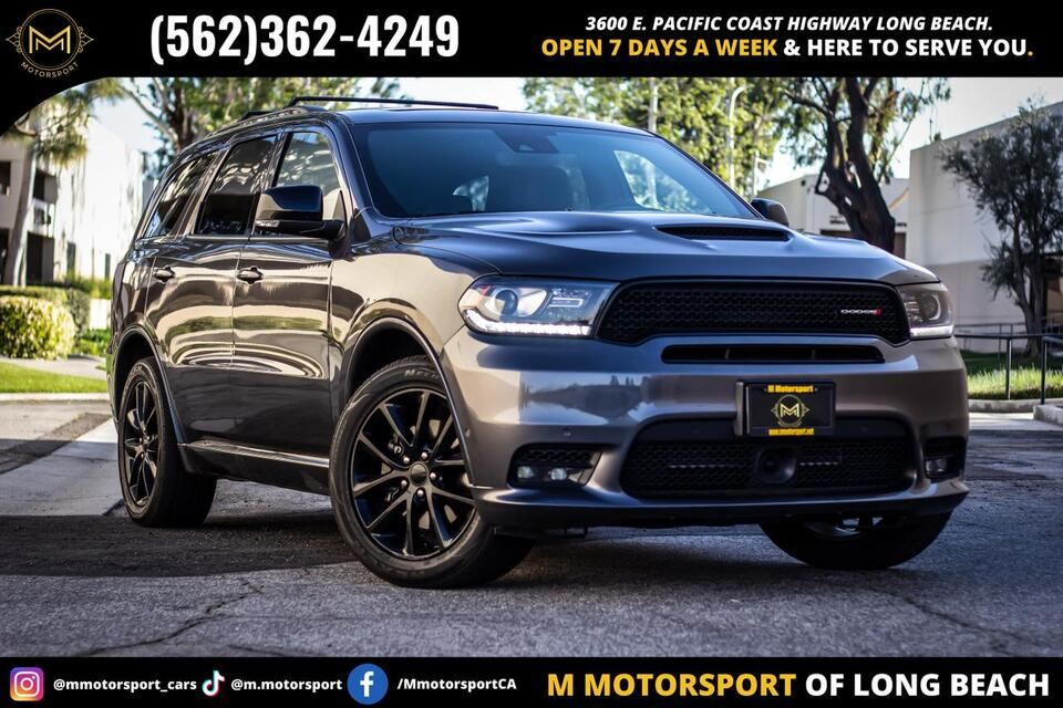 2018_Dodge_Durango_R/T Sport Utility 4D_ Long Beach CA