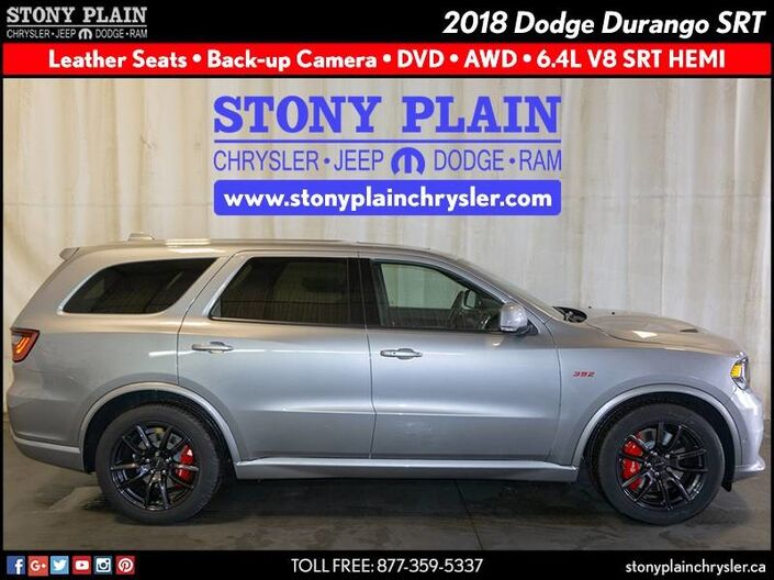 2018 Dodge Durango SRT Stony Plain AB