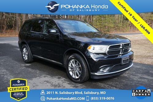 2018_Dodge_Durango_SXT AWD ** Pohanka Certified 10 Year / 100,000  **_ Salisbury MD