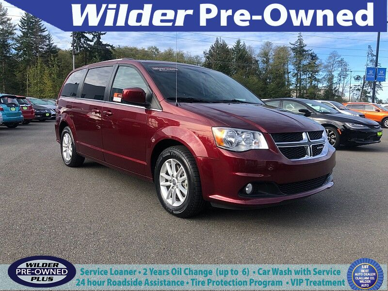 2018 Dodge Grand Caravan 4d Wagon SXT