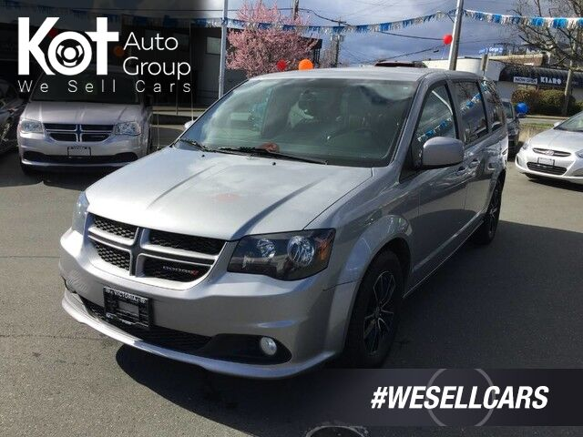 2018 Dodge Grand Caravan GT LEATHER! DVD SYSTEM! FULL STOW & GO! GREAT FAMILY RIDE! Victoria BC