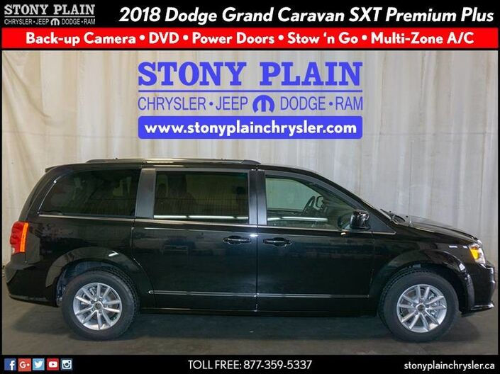 2018 Dodge Grand Caravan SXT Premium Plus Stony Plain AB