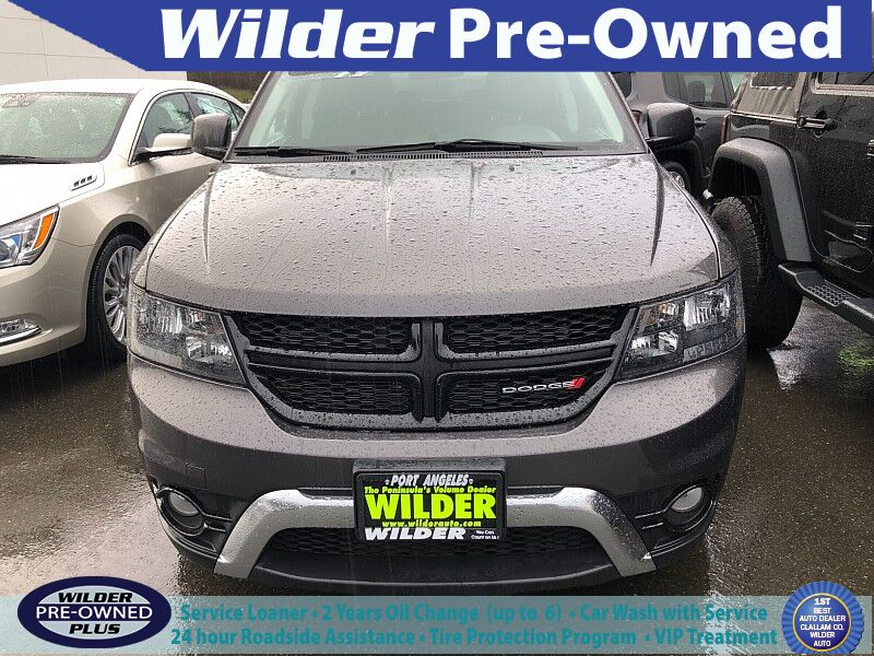 2018 Dodge Journey 4d SUV AWD Crossroad Port Angeles WA