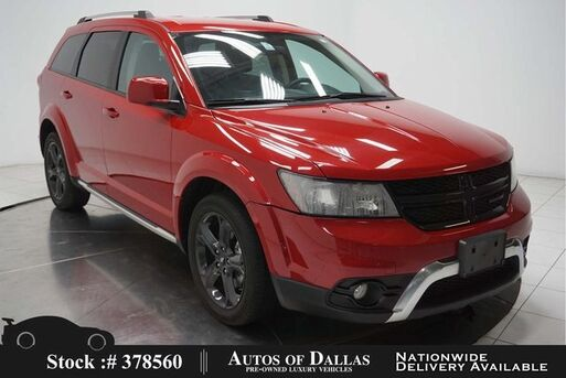 2018_Dodge_Journey_Crossroad BACK-UP CAMERA,KEY-GO,19IN WLS,3RD ROW_ Plano TX