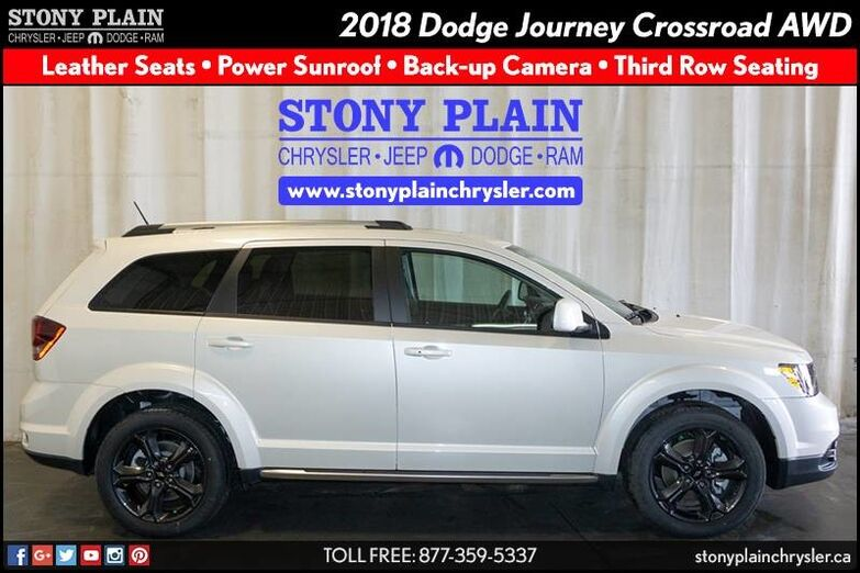 2018 Dodge Journey Crossroad Stony Plain AB
