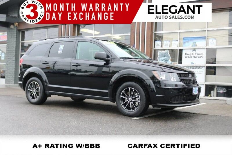 2018 Dodge Journey SE - 3RD ROW LIKE NEW SE