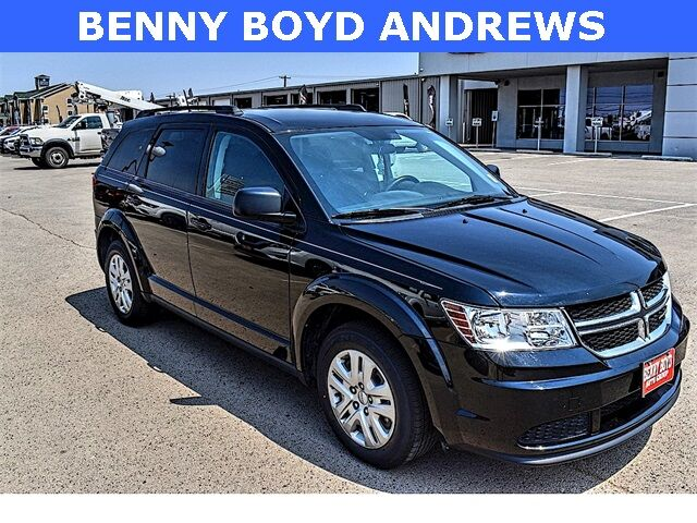 2018 Dodge Journey SE FWD Crossover SUV Third Row 2.4L 4Cyl Andrews TX
