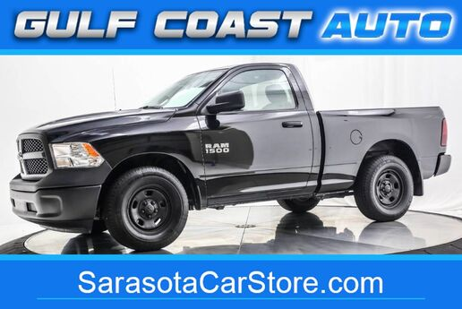 2018 Dodge RAM 1500 TRADESMAN V6 REG CAB 1FL OWNER TRUCK WARRANTY LIKE NEW Sarasota FL