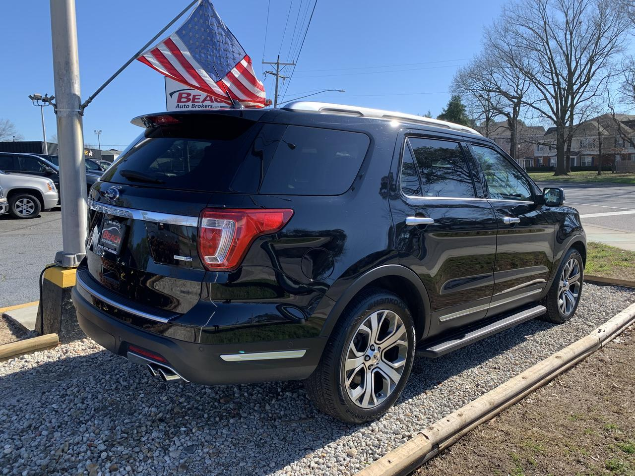 2018 FORD EXPLORER PLATINUM 4X4, WARRANTY, LEATHER, SUNROOF, NAV, HEATED/COOLED SEATS, 1 OWNER, PRISTINE! Norfolk VA