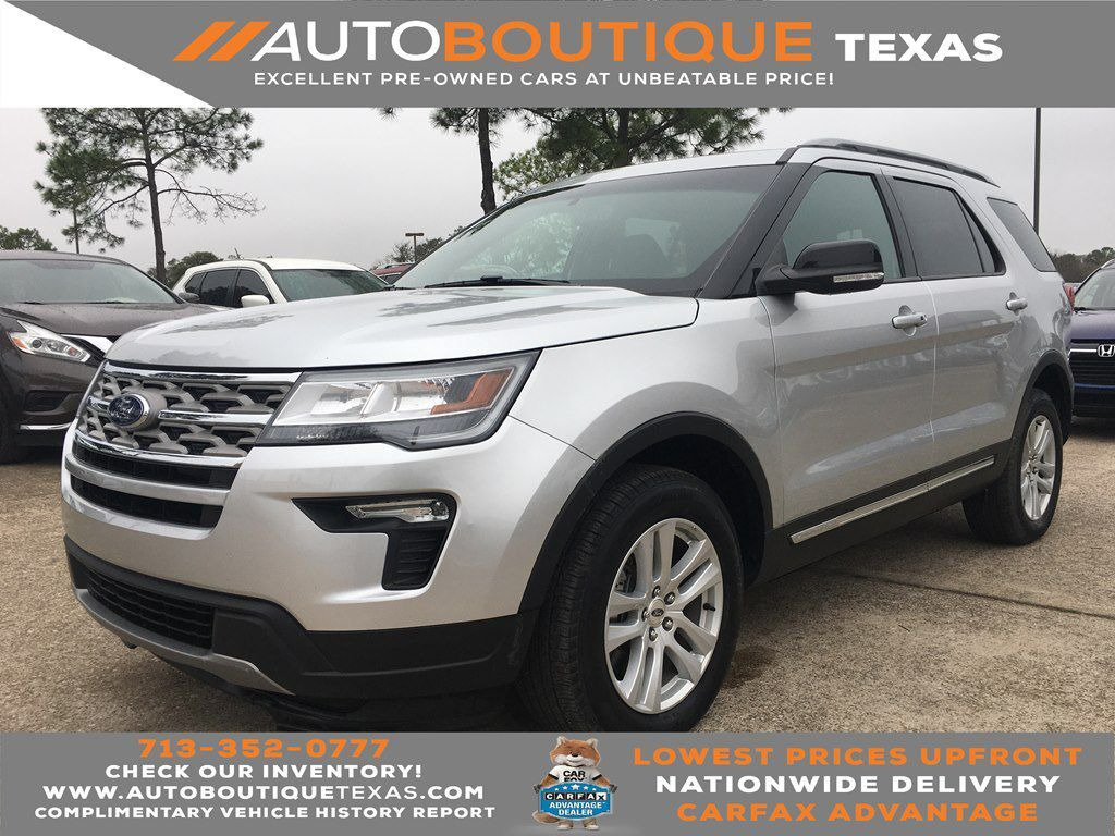 2018 FORD EXPLORER XLT XLT Houston TX