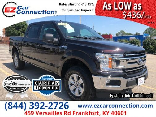 2018_FORD_F150 XLT_XLT SuperCrew 6.5-ft. Bed 4WD_ Frankfort KY