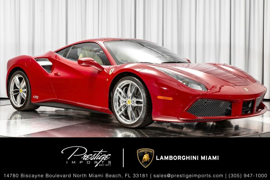 2018_Ferrari_488 GTB__ North Miami Beach FL